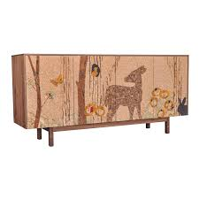 cork furniture. perfect furniture cork mosaic sideboard  forest long by michael iannone from iannone design intended furniture