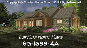 small craftsman cabin house plan chp sg