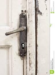 old door handle stock photo image 28815770