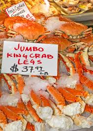 King Crab Legs For Sale Stock Photo ...