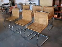 mies van der rohe b42 em cantilever em chairs