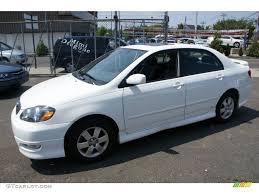 toyota corolla 2005 white. Exellent 2005 Super White Toyota Corolla Inside 2005 Y