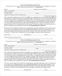 Petty Cash Reimbursement Sample Reimbursement Form 13 Free Documents In Doc Pdf