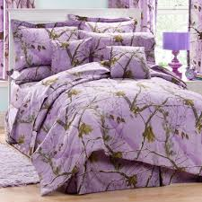details about realtree ap lavender camo 3 piece twin comforter set girls bedding camouflage
