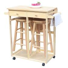 Amazoncom Fch Small Kitchen Table And Chair Set Wooden Kitchen
