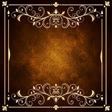 black and gold frame png. Furniture Visiting Card Background #2 - Black And Gold Frame Png Golden Ornamental