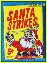 Trading Card Size Chart Santa Strikes Holiday Trading Card Sets