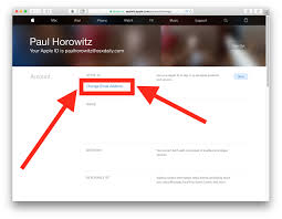 change email address linked to apple id