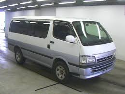 Japanese Used TOYOTA HIACE VAN SUPER GL 2WD☆LONG☆DIESEL☆ENGINE 5L ...