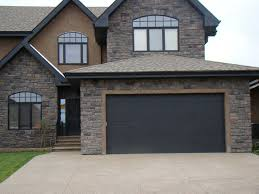 black garage doorsBring Black Back to the Garage Door  RenovationFind