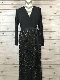 Deanne Skirt Size Chart Details About S Small Lularoe Elegant Deanne Wrap Dress Pleated Skirt Gold Foil Stars Black