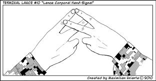 Marine Corps Hand Signals