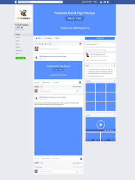 this new facebook brand page 2018 mockup psd is designed to make it easy to test