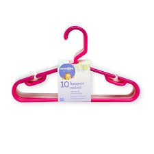 Babies R Us 10 Pack Hangers - Pink Multicolor
