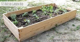 diy cedar raised garden bed the