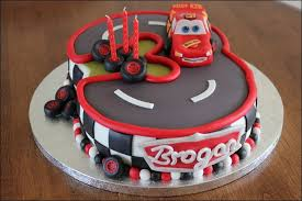 Birthday Cakes For Boys Cars Hd Wallpaper Background Images