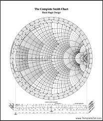 Smith Chart Jpg The Complete Smith Chart A4 Free Download In 2019 Smith