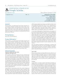 Pdf Google Scholar