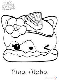 30 Coloring Pages Num Noms Coloring Pages Cute Coloring Pages
