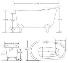 photo 2 of inch cast iron soaking tub bathtub dimensions clawfoot length