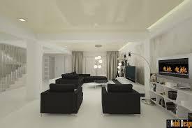 design interior dormitor living casa modena