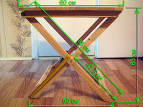 Раскладной стол чертеж
