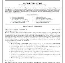 Oilfield Resume Samples Oil And Gas Resume Examples Oil Field Resume