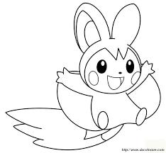 Colorare Pokémon Disegno Uno Scoiattolo Con Le Ali