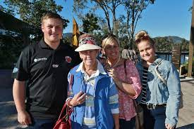 L-R Addison Green, Fay Denney, Belinda Riggs and Khloe Riggs ... | Buy  Photos Online | Whitsunday Times