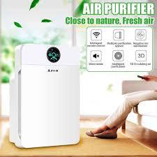 <b>Smart Air Purifier</b> Sterilizer Formaldehyde Smoke Wash Cleaning ...