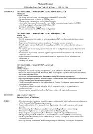 Crm Resume Examples Customer Relationship Management Resume Samples Velvet Jobs 2