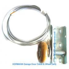 hormann garage door cable and wheel