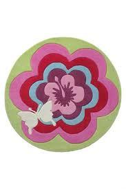 round pink rug. Esprit Fantasy Flower Pink Round Rug A