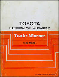 toyota truck runner wiring diagram manual factory reprint