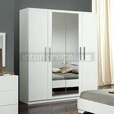 wardrobes gloria high gloss 4 door wardrobe white now on white gloss wardrobe doors