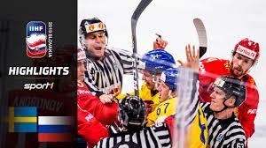 Die ersten drei weltmeisterschaften wurden noch im finnland stellt den aktuellen weltmeister (2019). Weltmeister Vorgefuhrt Schweden Russland 4 7 Highlights Iihf Eishockey Wm 2019 Sport1 Youtube