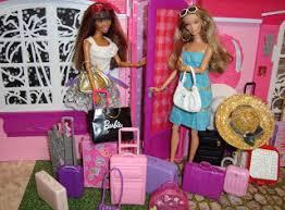 Resultado de imagen para maletas de barbie