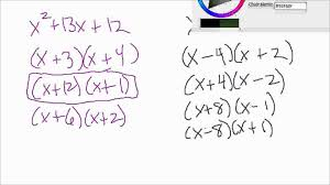 philfour algebra 2 factoring quadratic expressions perfect squares difference of squares you