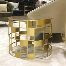 If you aren't finding the perfect product in the results for your current search for faux granite coffee tables, you can try searching again or using the department navigation on the top of the page. Round Brass Side Table With Square Cutworknand Granite Top Anne Hauck