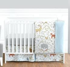 blue crib bedding set sweet blue grey forest animal baby girl boy crib bedding set navy blue and white crib bedding set