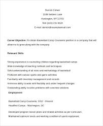 Camp Counselor Resume From Guidance Counselor Resume Middle School