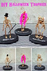 Halloween Party - DIY Halloween Trophies More