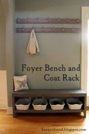 Wooden Coat And Shoe Rack Storage Bench With Shoe Rack Foter 23