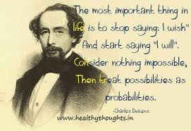 Charles Dickens Quotes Interesting Quotation Charles Dickens Time Regret Long Memory Meetville Quotes