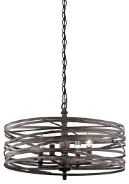miseno sbu143977rt weathered iron annata 4 light 20 wide candle style drum chandelier with 72 adjule chain faucet com