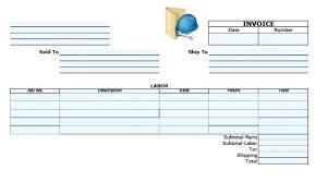 Receipt Builder Invoice Template For Builders Receipt Builder Invoices