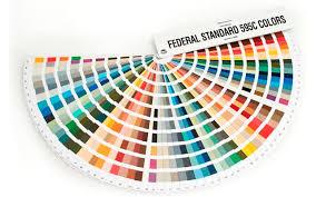 Federal Standard 595c Color Fan Deck Version Contains 650 Colours