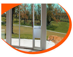 fully automatic pet doors adapted for sliding glass doors