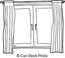 window clipart black and white.  Clipart Window Clipart Black And White  ClipartFest Throughout Clipart Black And White