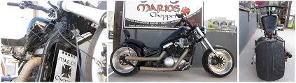 marios choppers custom motorcycle builder and fabricator in